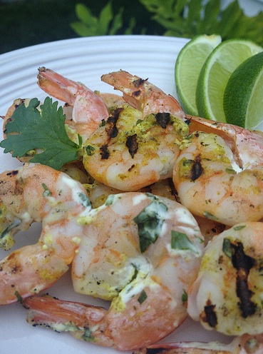 Tandoori Shrimp Skewers Five Healthy Super Bowl Recipes