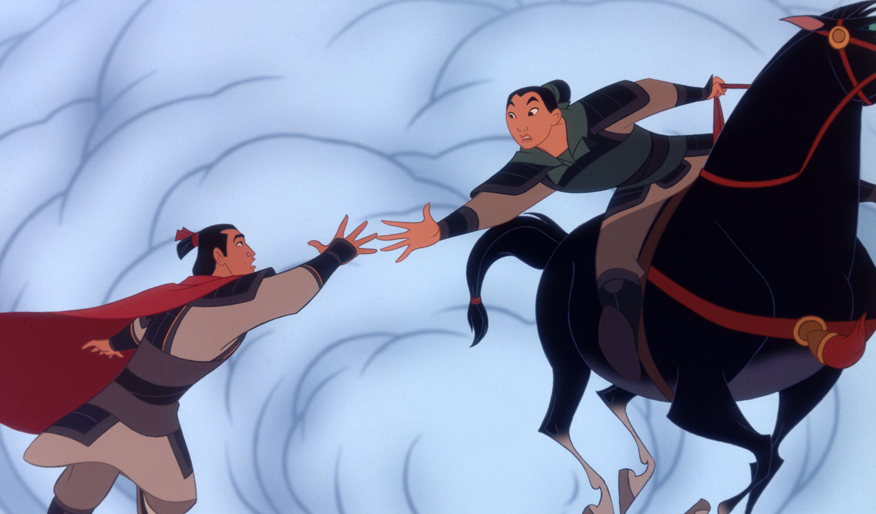 El Capitan Exclusive Engagement of MulanMulan Shang Training
