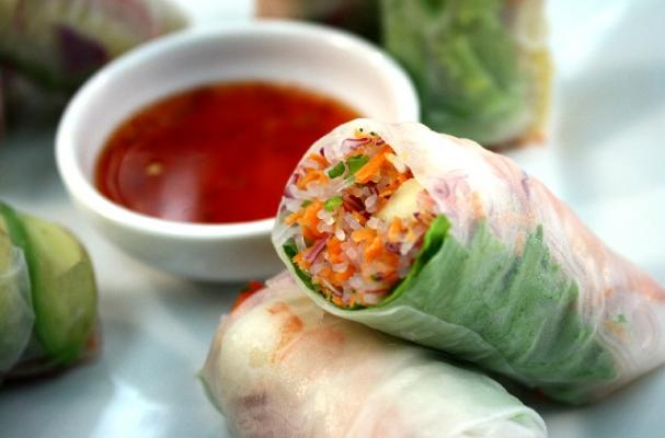 Genji's Shrimp Summer Rolls Recipe | OC Mom Blog | OC Mom Blog