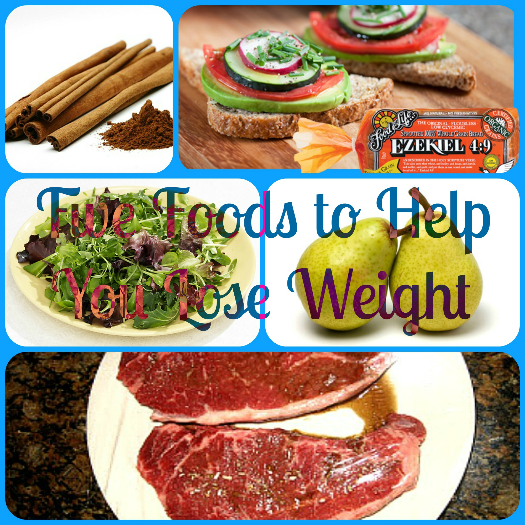 Five Foods to Help you Lose Weight