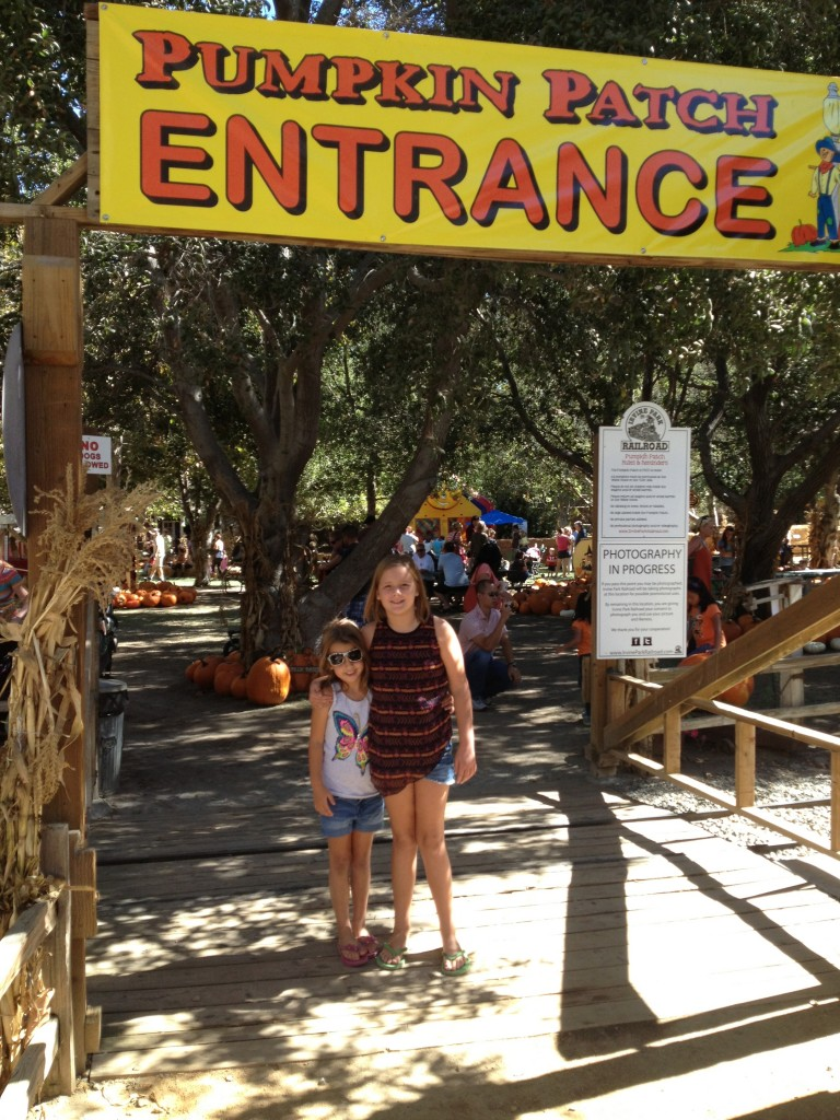 My girls are so ready to hit the Irvine Park Railroad Pumpkin Patch.