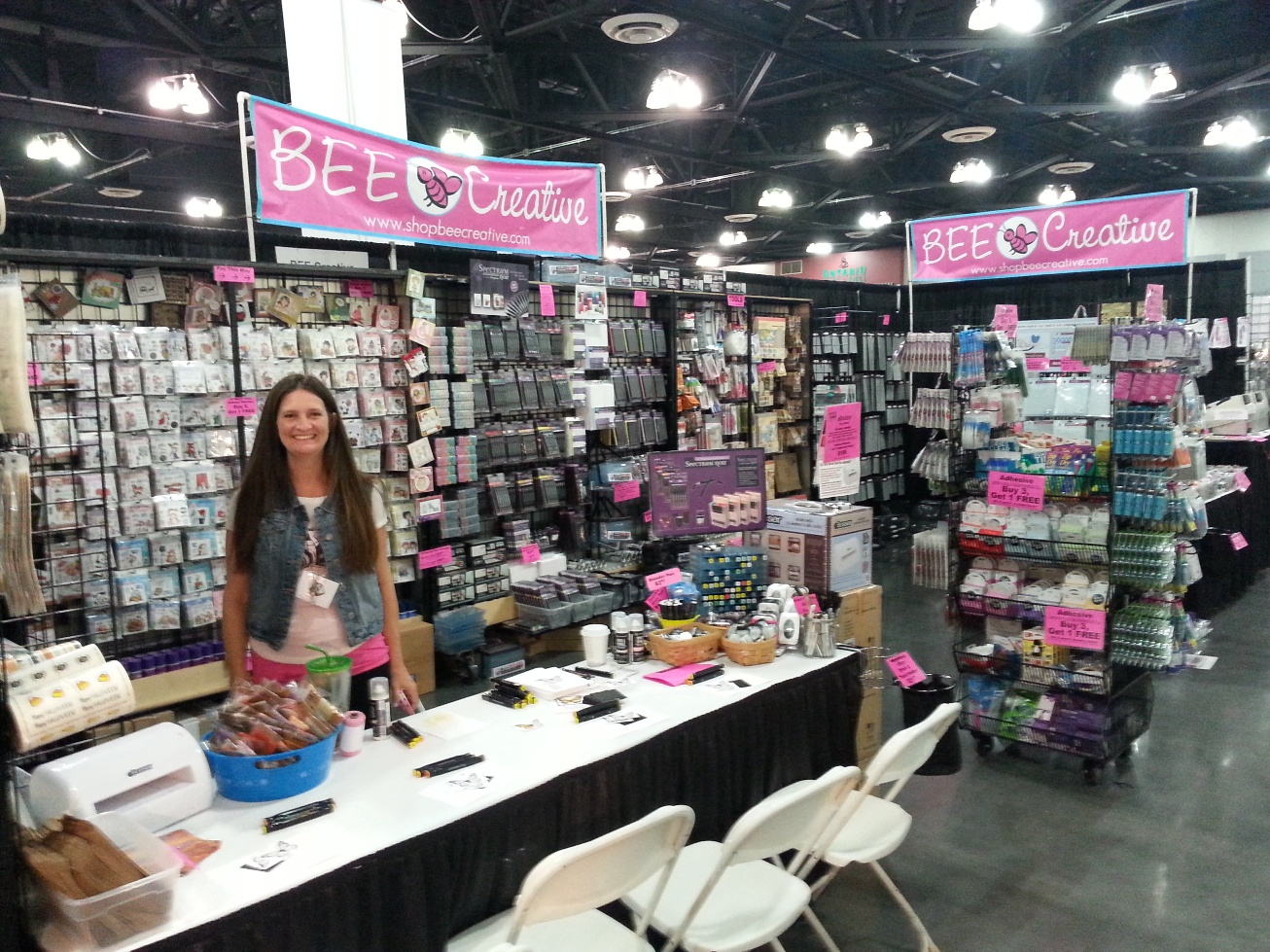 Anaheim scrapbook expo oc mom blog oc mom blog for Michaels craft store rancho san diego