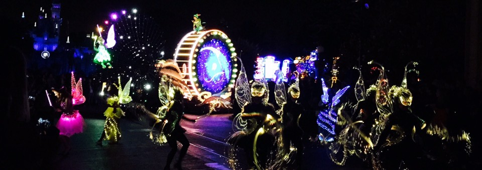 Disneyland Paint the Night Electrical Parade