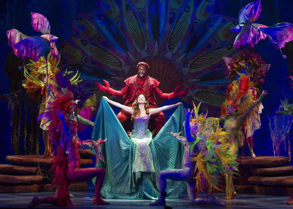 Under The Sea With The Little Mermaid Musical Oc Mom Blog