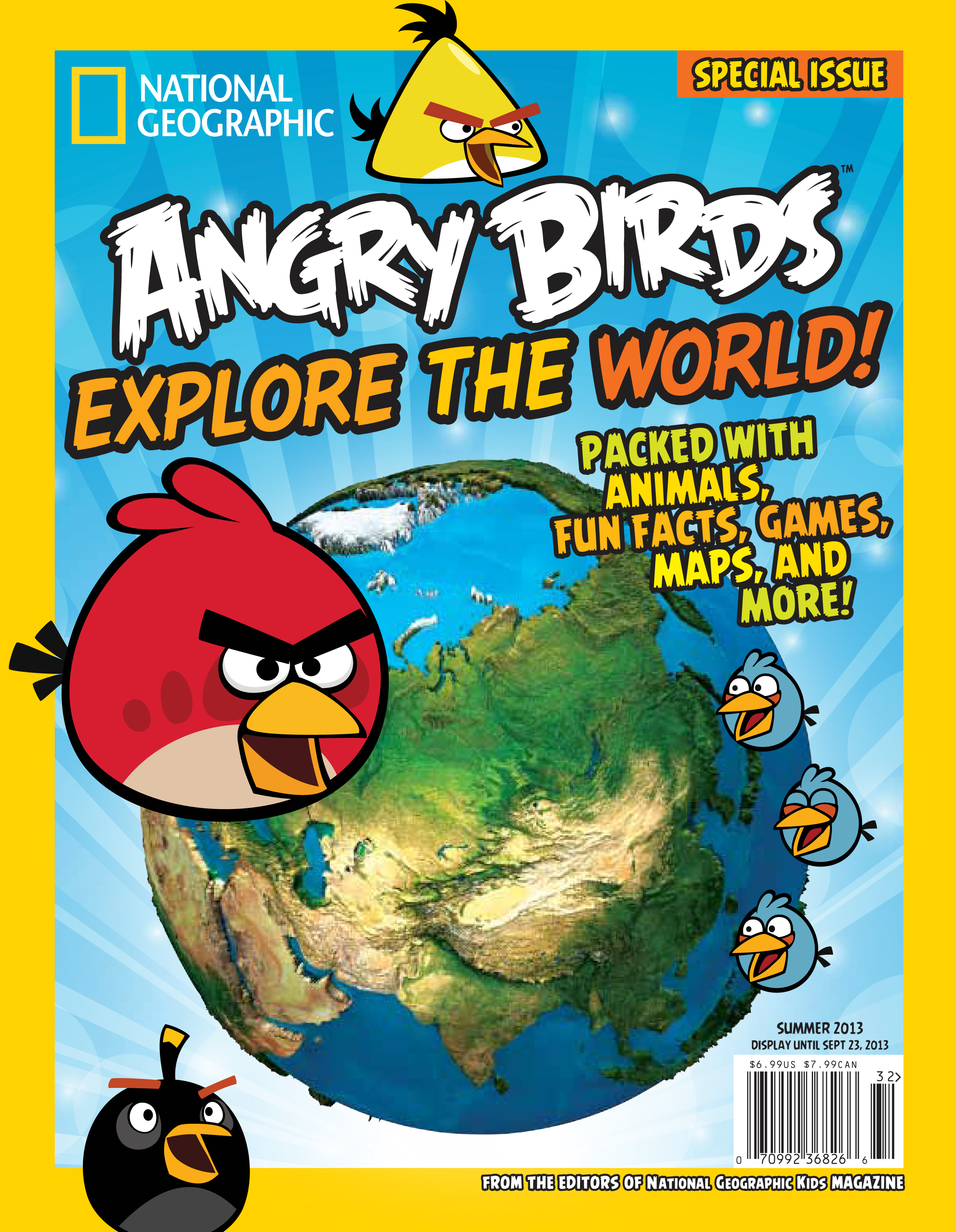 Summer Activity Guide National Geographic Kids Angry
