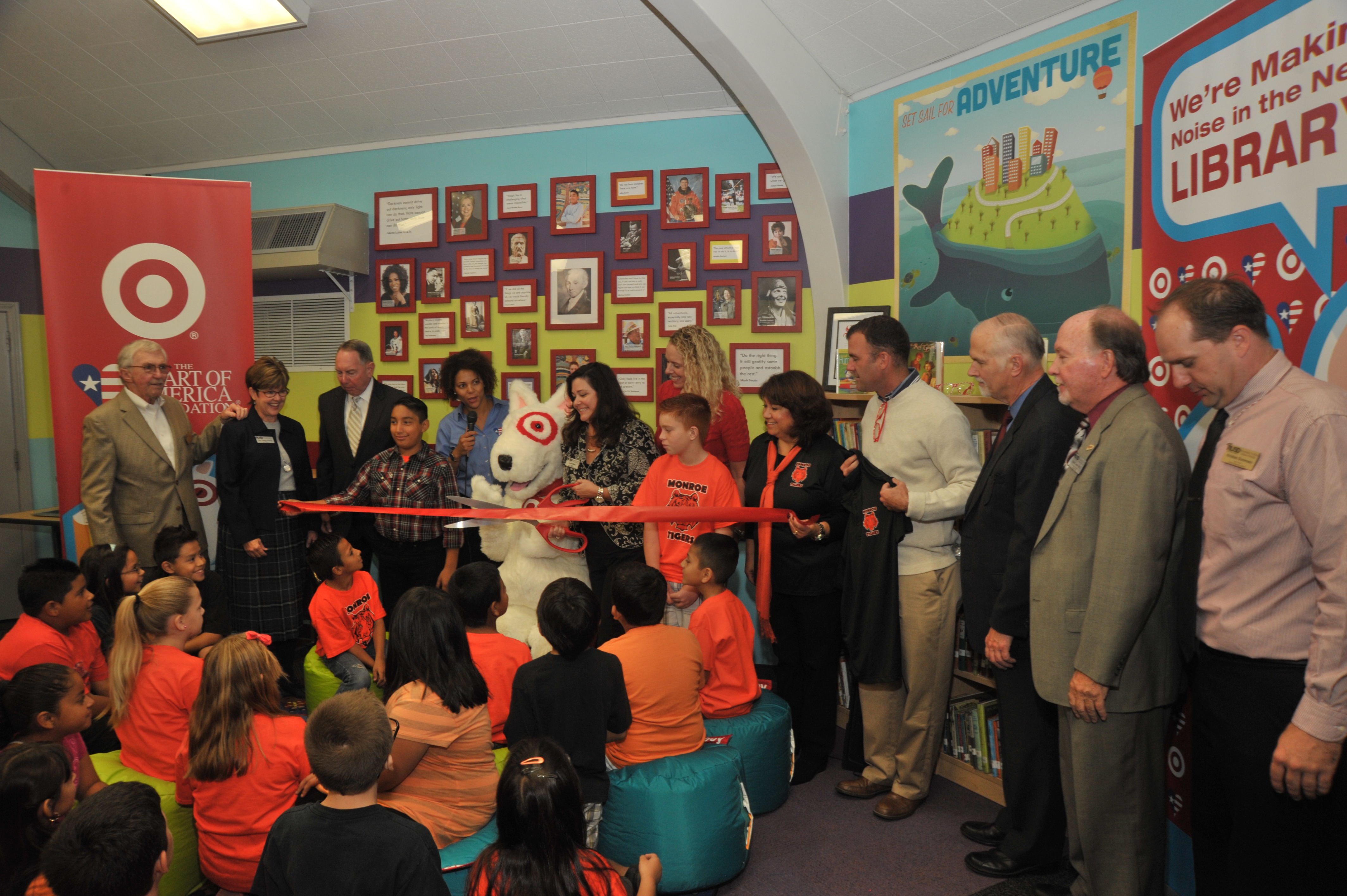 Monroe Elementary School Receives a Newly Renovated Library | OC Mom ...