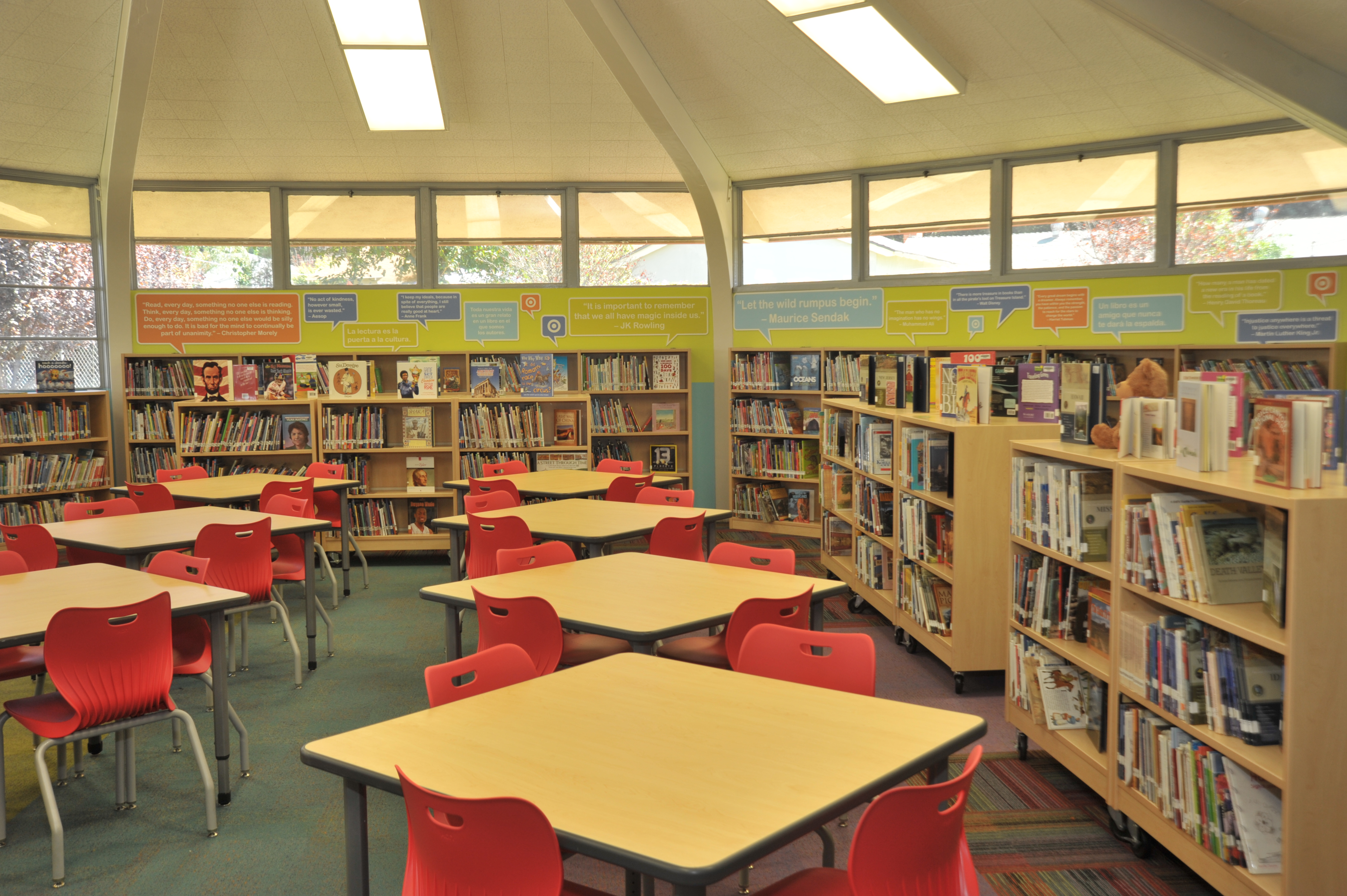 Monroe Elementary School Receives a Newly Renovated