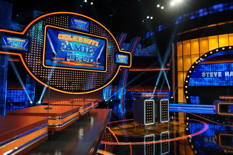 Behind The Scenes Of Celebrity Family Feud Oc Mom Blog