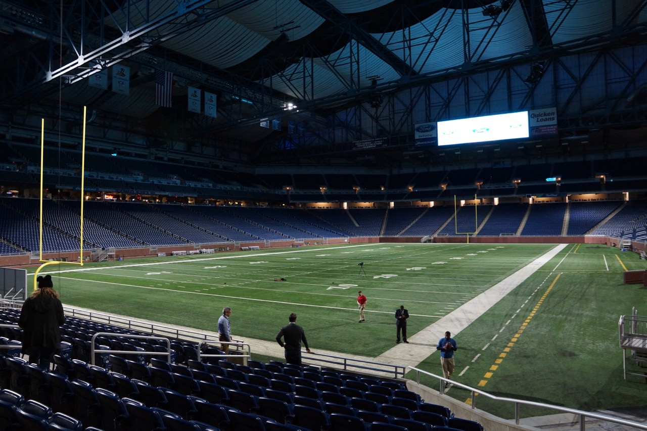 Behind The Scenes Tour Of Ford Field Oc Mom Blog