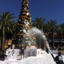 Irvine Spectrum Snow Day