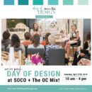 SOCO & The OC Mix Day of Design